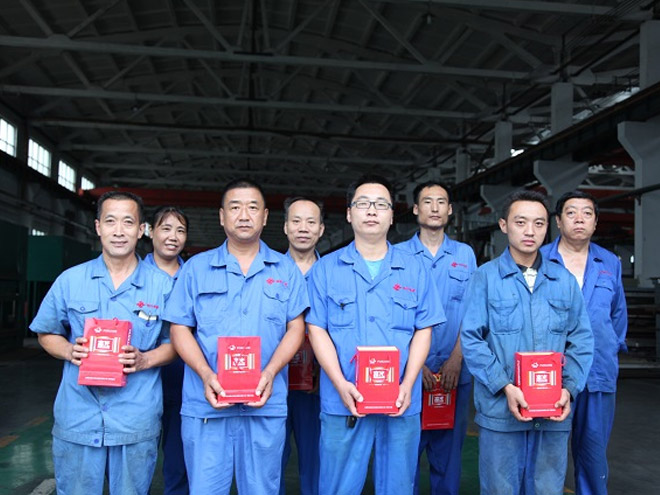 Haijiang Group's five best employees selection activity ended successfully
